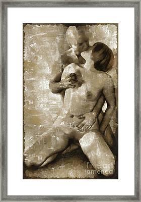 Make Love  Framed Print by Mary Bassett