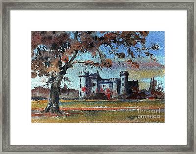 Malahide Castle, Dublin Framed Print