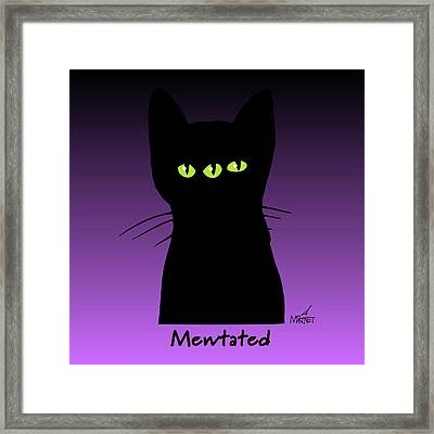 Mewtated Framed Print