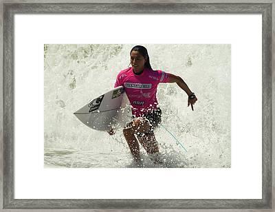 Malia Manuel Framed Print by Waterdancer