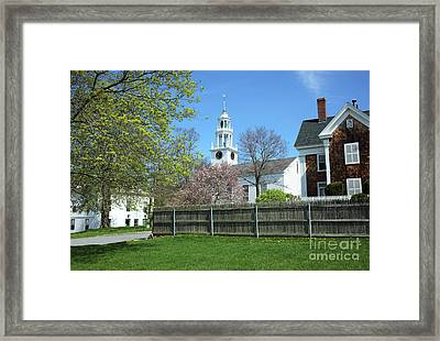Manchester-by-the-sea Framed Print by Denis Tangney Jr