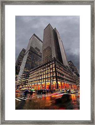 Manhattan Framed Print by Svetlana Sewell