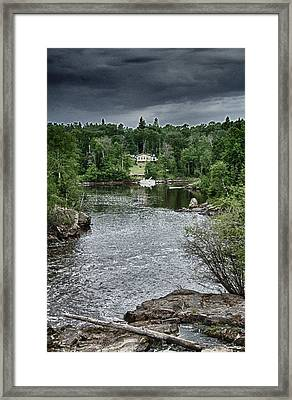 Manigotagan River Framed Print