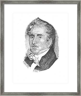 Manuel Lisa Framed Print