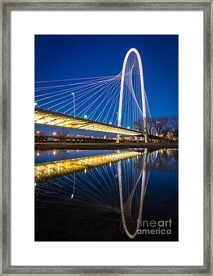 Margaret Hunt Hill Bridge Framed Print by Inge Johnsson