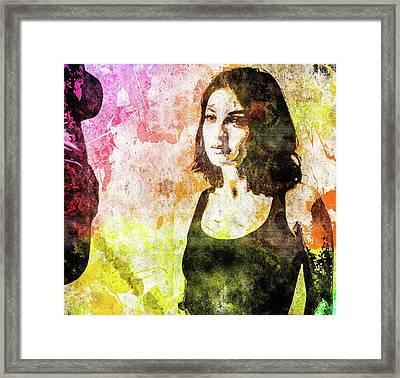 Maria Valverde Framed Print