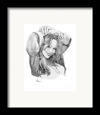 Mariah Carey Framed Prints