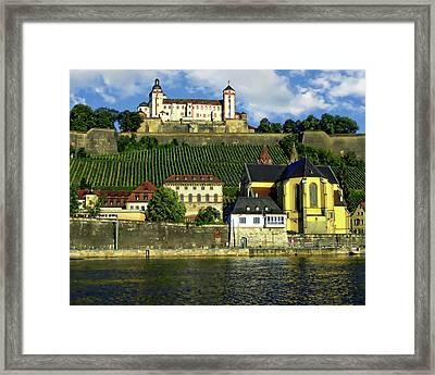 Marienberg Fortress Framed Print