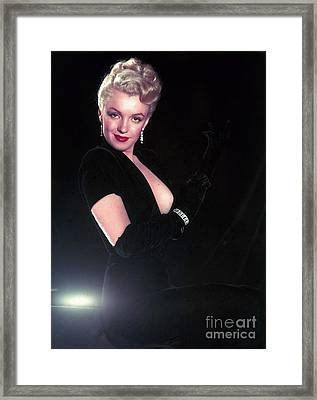 Marilyn Monroe Framed Print by The Titanic Project