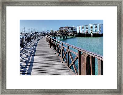 Marina Rubicon - Lanzarote Framed Print