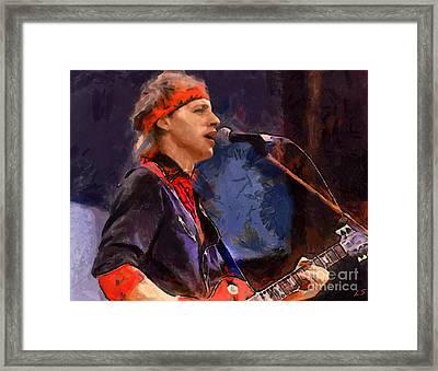 Mark Knopfler Framed Print