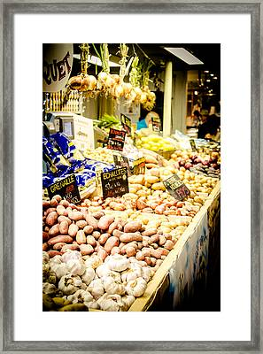 Framed Print featuring the photograph Market by Jason Smith