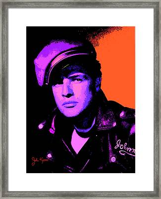 Marlon Brando 1 Framed Print by John Keaton