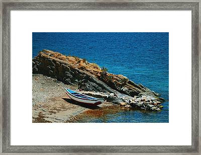 Marooned Framed Print by Skip Hunt