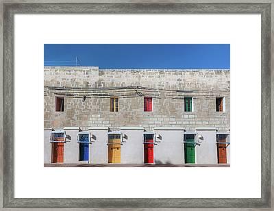 Marsaxlokk - Malta Framed Print by Joana Kruse