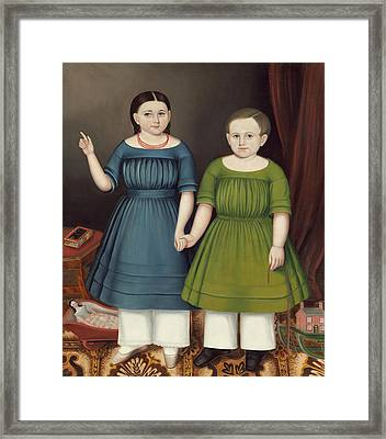 Mary And Francis Wilcox Framed Print
