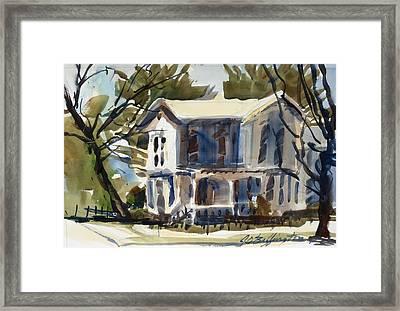 Mary Eck's House  Framed Print