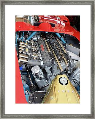 Maserati Engine Framed Print