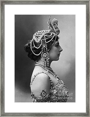 Framed Print featuring the photograph Mata Hari by Granger