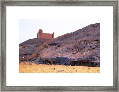 Mausoleum Of Aga Khan - Egypt Framed Print by Joana Kruse