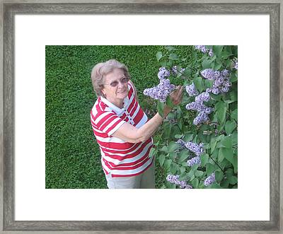 Mawmaw Framed Print by Alexandra Mallory