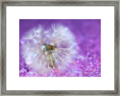 May Your Wish Come True Framed Print by Krissy Katsimbras