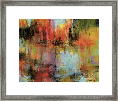 Maybe I've Been There Framed Print