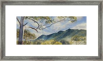 Mc Graths Hump Nsw Framed Print