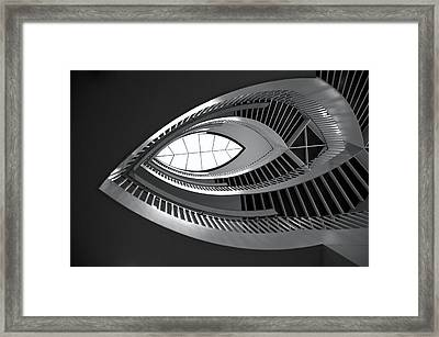 Mca Staircase Framed Print