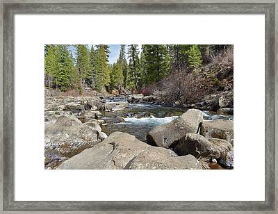 Mccloud River Framed Print