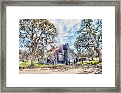 Mccourtney Barn Framed Print by William Havle