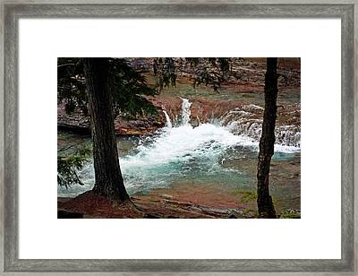 Mcdonald Creek  Framed Print by Marty Koch