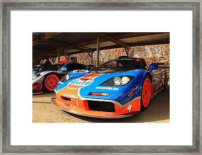 Mclaren F1 Gtr Framed Print by Robert Phelan