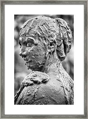 Me Mudder Framed Print by Winnie Chrzanowski