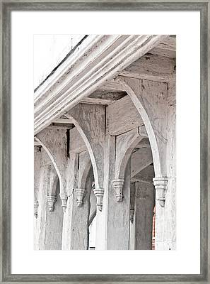Medieval Architecture Framed Print