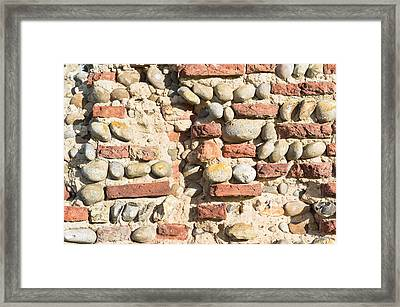 Medieval Wall Framed Print by Tom Gowanlock