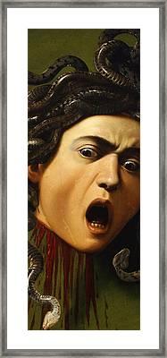 Medusa Framed Print by Caravaggio