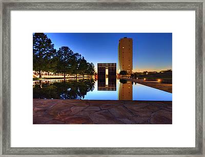 Memorial Framed Print by Malania Hammer