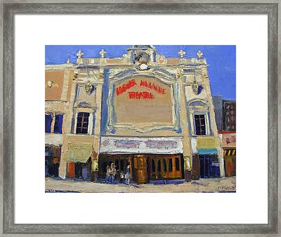 Memories Loews Paradise Bronx Framed Print by Gail Eisenfeld