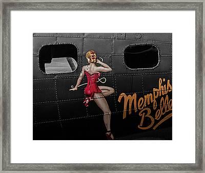 Memphis Belle Framed Print by Martin Newman