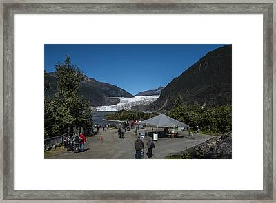 Mendenhall Glacier Framed Print by Robin Williams