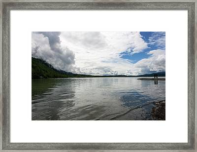 Mendenhall Lake Framed Print