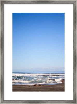 Mendocino California Coastline Framed Print by Tammie Gilchrist