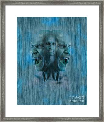 Mental Illness Framed Print by George Mattei