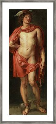 Mercury Framed Print by Peter Paul Rubens