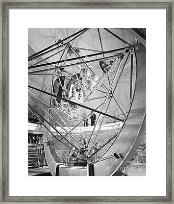 Mercury Program, Mastif Astronaut Framed Print