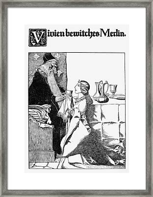 Merlin Framed Print by Granger