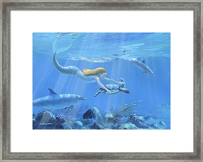 Mermaid Fantasy Framed Print