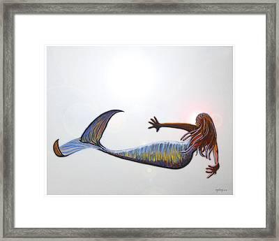 Mermaid Framed Print by W Gilroy