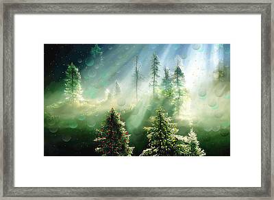 Merry Christmas Framed Print by Angela A Stanton